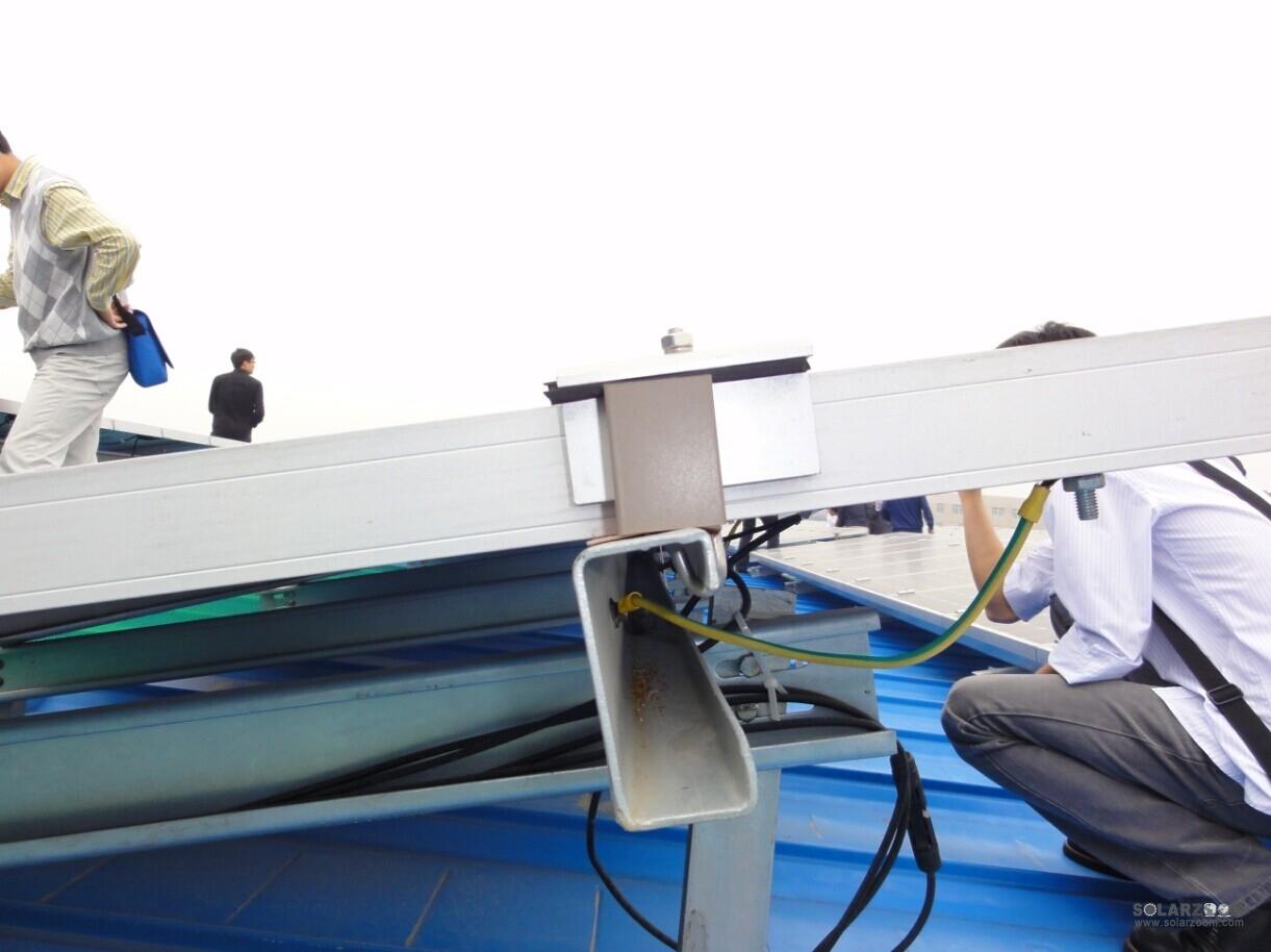 混凝土屋面及钢结构厂房屋顶光伏电站防雷方案