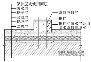 分布式光伏发电系统屋面防水