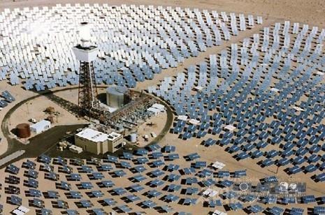 热太阳能发电塔