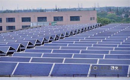 上海市崇明岛内最大功率光伏发电并网投运